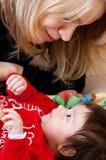 Matriz e bebê Imagens de Stock Royalty Free