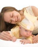 Matriz e bebê Fotos de Stock Royalty Free