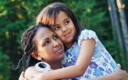 Matriz e criança Foto de Stock