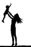 Matriz e criança Fotografia de Stock Royalty Free