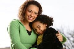 Matriz e criança Fotografia de Stock