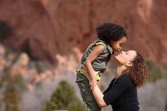 Matriz e criança imagens de stock royalty free