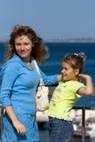 Matriz e a criança fotos de stock royalty free