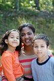 Matriz e crianças foto de stock royalty free