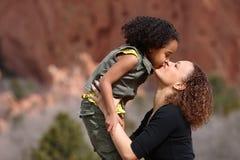 Matriz e criança Fotos de Stock
