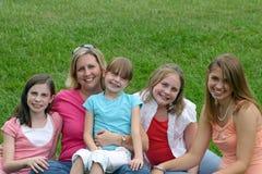 Matriz e crianças Fotos de Stock