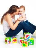 Matriz e filha Imagem de Stock Royalty Free