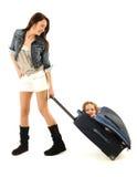 Matriz e filha Imagens de Stock