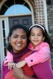 Matriz e filha Foto de Stock Royalty Free