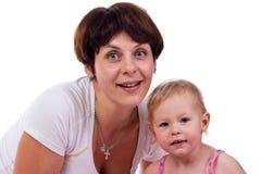 Matriz e filha fotografia de stock royalty free