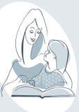 Matriz e filha ilustração do vetor