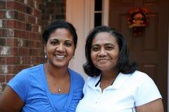 Matriz e filha Fotografia de Stock