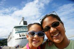 Matriz e filha Foto de Stock