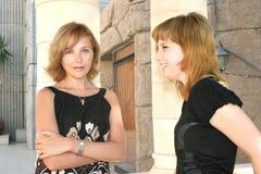 Matriz e filha Imagem de Stock