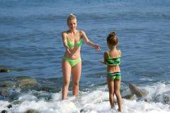 Matriz e a filha Imagem de Stock Royalty Free