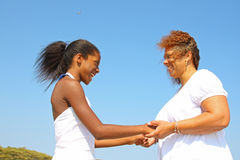Matriz e filha Fotos de Stock Royalty Free