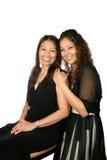 Matriz e filha bonitas Fotografia de Stock Royalty Free