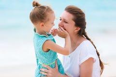 Matriz e filha felizes Foto de Stock