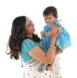 Matriz e filha indianas imagens de stock royalty free