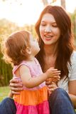 Matriz e filha latino-americanos Imagem de Stock