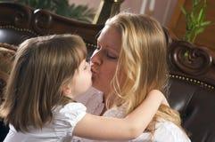 Matriz e filha novas Fotografia de Stock Royalty Free