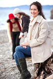 Matriz e filhas Foto de Stock