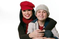 Matriz e filho foto de stock royalty free