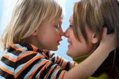 Matriz e filho Imagem de Stock Royalty Free