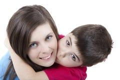 Matriz e filho Foto de Stock