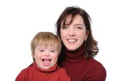 Matriz e filho Fotos de Stock