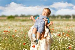 Mãe e filho fotografia de stock royalty free