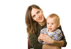 Mãe e filho imagem de stock royalty free