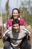 Matriz e filho adolescente foto de stock royalty free