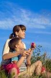 Matriz e seu filho imagens de stock