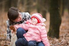 Matriz e sua filha Imagem de Stock