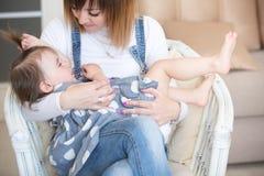 Matriz e sua filha pequena fotografia de stock royalty free