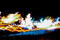 Matriz en el amor Laura del argón de la zona de la noche imágenes de archivo libres de regalías
