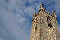 Matriz kyrkliga Klocka torn i Loule Royaltyfria Foton