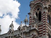 Matriz santamente da igreja Bogotá Colômbia de Carmen Fotos de Stock