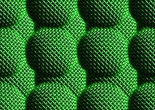 A matriz verde horizontal telhou contexto textured do fundo do mics imagens de stock
