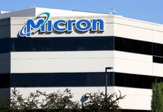 Matrizes da tecnologia do mícron Imagens de Stock Royalty Free
