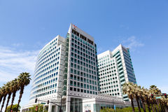 Matrizes de Adobe em San Jose, Califórnia fotografia de stock