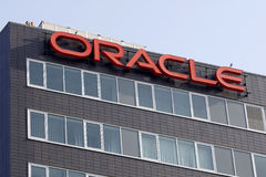 Matrizes de Oracle foto de stock