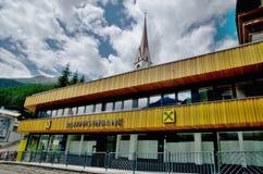Matrizes do banco de Raiffeisen em Bucareste Imagem de Stock Royalty Free