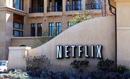 Matrizes do mundo de Netflix Imagem de Stock Royalty Free