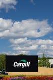 Matrizes e sinal incorporados de Cargill Foto de Stock Royalty Free