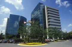 Matrizes incorporadas de Tyson, Fairfax County, VA Imagens de Stock
