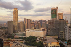 Matro Manila, Makati miasto fotografia royalty free