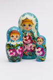Matroska-Puppen Lizenzfreies Stockfoto