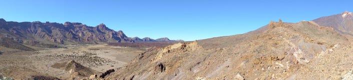 Matrtian desert in highland of Tenerife Stock Photography